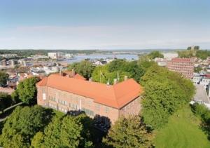 Tønsberg Navigasjonsskole sett fra luften