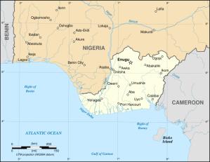 Biafra - en del av Nigeria