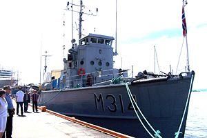 KNM ALTA, søsterskip til KNM VOSSO bygget 1953