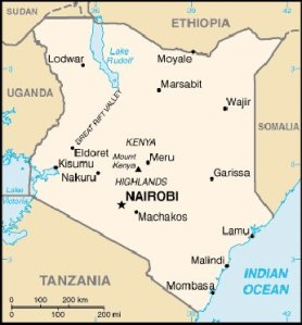 Mombasa i Kenya