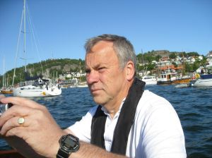 Konsentrert båtfører