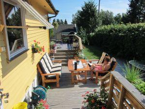 Ny møbelgruppe ble også anskaffet i sommer takket være tilbud på Plantasjen.