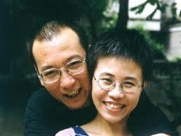 Liu Xiaobo og hans hustru