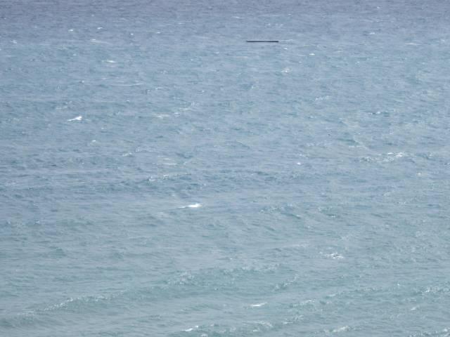 Havet med litt skum