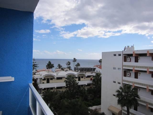 Fra balkongen på Caserio Azul