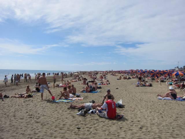 Helg i Playa del Inglés