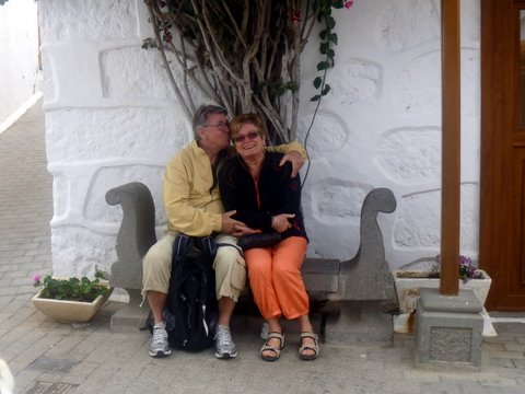 Og så et tilbakeblikk fra vår andre uke på Gran Canaria (foto Gro Færvik Gjekstad).