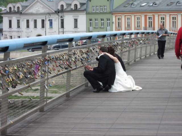 Kjærlighetsbroen med hengelåser