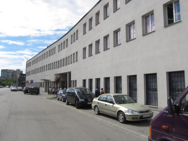 Schindlers Fabrikk med nyoppusset fasade.