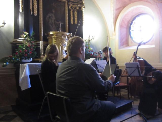 Kveldens kammerorkester i kirken St.Wojciech