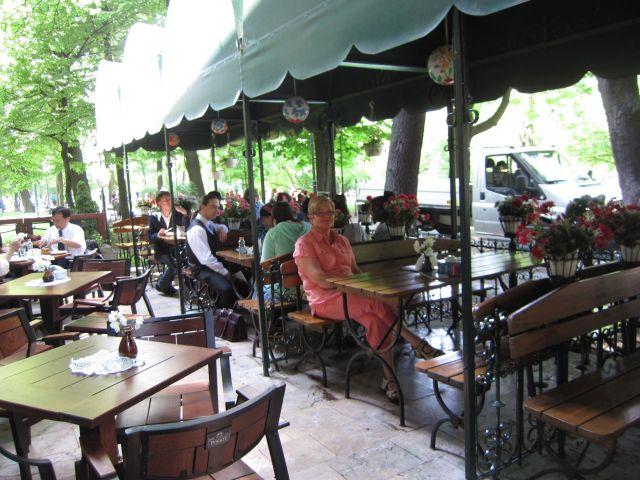 Lunsj i en av parkene