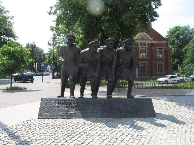 En skulptur fra kommunisttidens Krakow