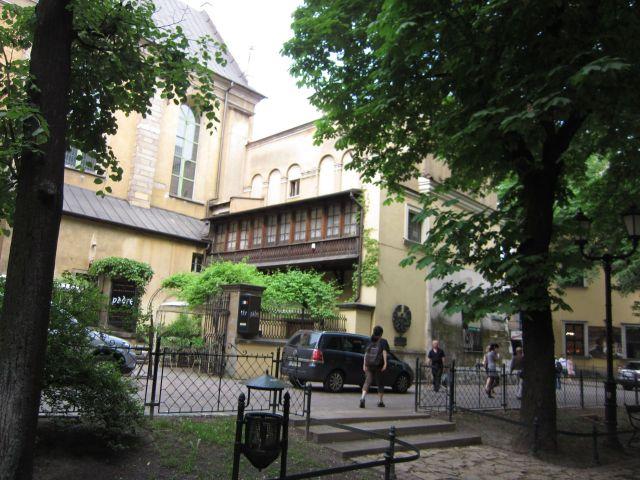 Bygningsdetalj i Krakow (foto Terje Rønning)