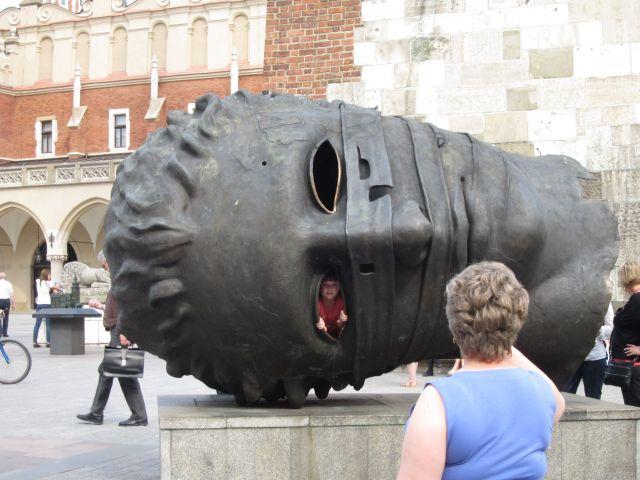 Barnevennlig skulptur (foto Terje Rønning)