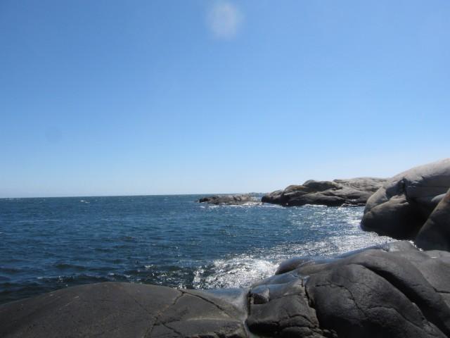 Havsutsikt fra Folehavna