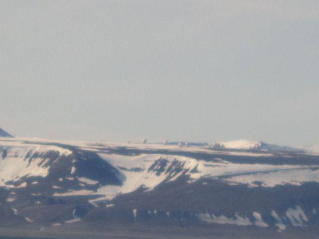 Svalsat tilhører Kongsberg Satellite Service og tar ned data blant for NASA. (foto Terje Rønning)