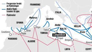 2015 08 16 - flyktningeruter