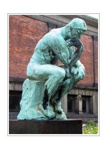Tenkeren av Auguste Rodin