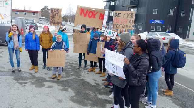 2019 10 03 - de unges miljøprotest
