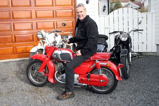 2019 12 09 - Honda motorsykkel 1960