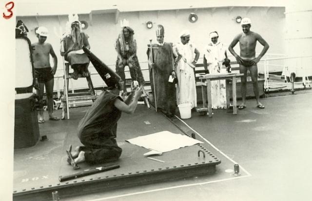 1969-1971 - MT THORSHOV - Linjedåp - Terje Rønning som astronom